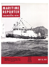 Logo of July 15, 1977 - Maritime Reporter and Engineering News