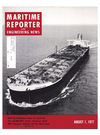 Logo of August 1977 - Maritime Reporter and Engineering News