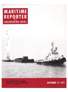Logo of September 15, 1977 - Maritime Reporter and Engineering News