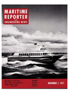 Logo of November 1977 - Maritime Reporter and Engineering News