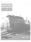 Logo of August 15, 1980 - Maritime Reporter and Engineering News