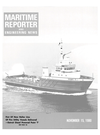 Logo of November 15, 1980 - Maritime Reporter and Engineering News