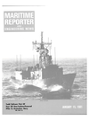 Logo of January 15, 1981 - Maritime Reporter and Engineering News