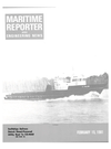 Logo of February 15, 1981 - Maritime Reporter and Engineering News