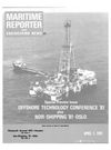 Logo of April 1981 - Maritime Reporter and Engineering News