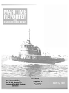 Logo of May 15, 1981 - Maritime Reporter and Engineering News