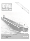 Logo of June 15, 1981 - Maritime Reporter and Engineering News