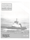 Logo of July 1981 - Maritime Reporter and Engineering News