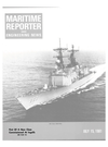 Logo of July 15, 1981 - Maritime Reporter and Engineering News