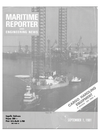 Logo of September 1981 - Maritime Reporter and Engineering News
