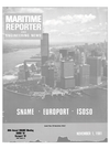 Logo of November 1981 - Maritime Reporter and Engineering News