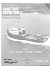 Logo of December 1981 - Maritime Reporter and Engineering News
