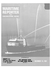 Logo of December 15, 1981 - Maritime Reporter and Engineering News