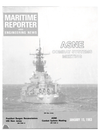 Logo of January 15, 1983 - Maritime Reporter and Engineering News