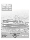 Logo of March 15, 1983 - Maritime Reporter and Engineering News