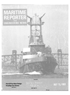 Logo of July 15, 1983 - Maritime Reporter and Engineering News