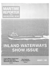 Logo of August 1983 - Maritime Reporter and Engineering News
