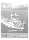 Logo of October 15, 1983 - Maritime Reporter and Engineering News