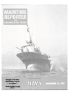 Logo of November 15, 1983 - Maritime Reporter and Engineering News