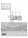 Logo of April 1984 - Maritime Reporter and Engineering News