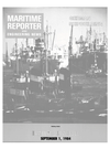 Logo of September 1984 - Maritime Reporter and Engineering News