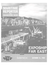 Logo of October 15, 1984 - Maritime Reporter and Engineering News