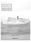 Logo of January 1985 - Maritime Reporter and Engineering News