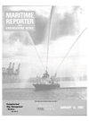 Logo of January 15, 1985 - Maritime Reporter and Engineering News