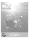 Logo of February 15, 1985 - Maritime Reporter and Engineering News