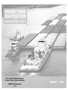 Logo of August 1985 - Maritime Reporter and Engineering News