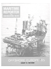 Logo of August 15, 1985 - Maritime Reporter and Engineering News