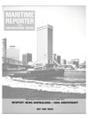 Logo of May 1986 - Maritime Reporter and Engineering News