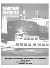 Logo of September 1986 - Maritime Reporter and Engineering News