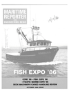 Logo of October 1986 - Maritime Reporter and Engineering News