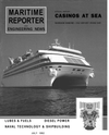 Logo of July 1992 - Maritime Reporter and Engineering News