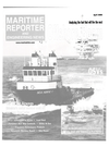 Logo of April 2000 - Maritime Reporter and Engineering News