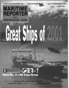 Logo of December 2001 - Maritime Reporter and Engineering News