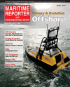 Logo of April 2014 - Maritime Reporter and Engineering News