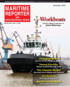 Logo of November 2015 - Maritime Reporter and Engineering News