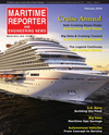 Logo of February 2016 - Maritime Reporter and Engineering News