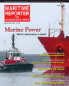 Logo of May 2016 - Maritime Reporter and Engineering News