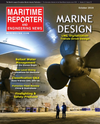 Logo of October 2016 - Maritime Reporter and Engineering News