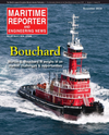Logo of November 2016 - Maritime Reporter and Engineering News