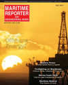 Logo of April 2017 - Maritime Reporter and Engineering News