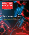 Logo of March 2018 - Maritime Reporter and Engineering News