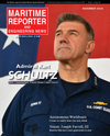 Logo of November 2018 - Maritime Reporter and Engineering News