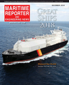 Logo of December 2018 - Maritime Reporter and Engineering News