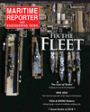 Logo of January 2019 - Maritime Reporter and Engineering News