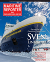 Logo of March 2019 - Maritime Reporter and Engineering News