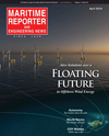 Logo of April 2019 - Maritime Reporter and Engineering News